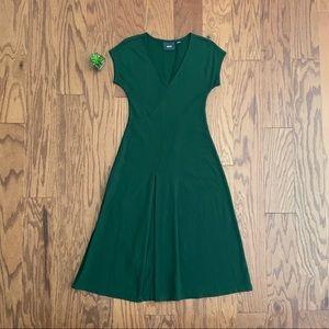 Maeve Anthropologie Short Sleeve Maxi Dress Sz S